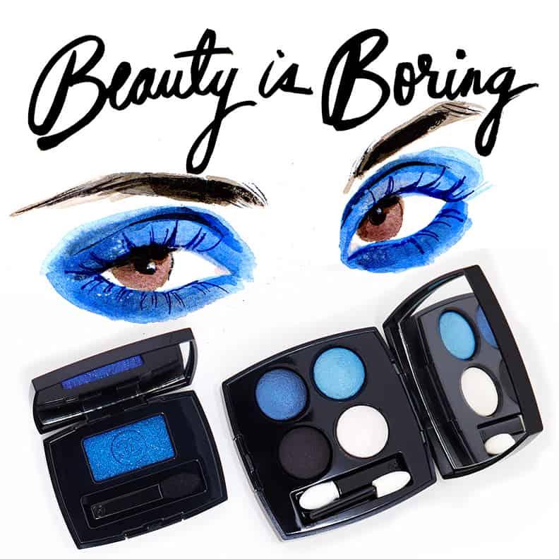 Regina Yazdi, Robin Black, Beauty is Boring, Chanel Blue Rhythm Collection
